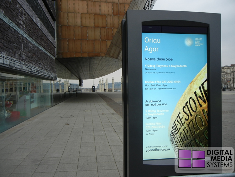 Wales Millennium Centre Outdoor Digital Displays