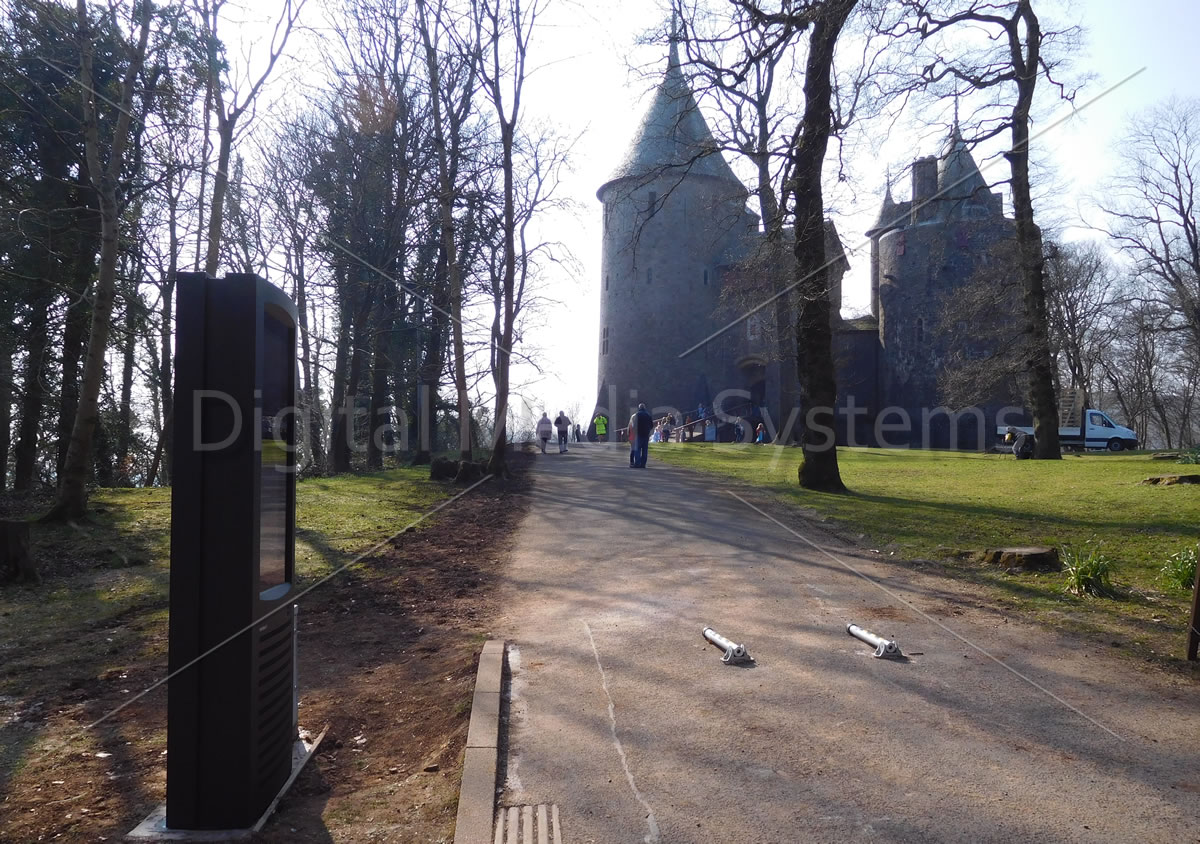 Digital Signage for Castles and Historic Sites