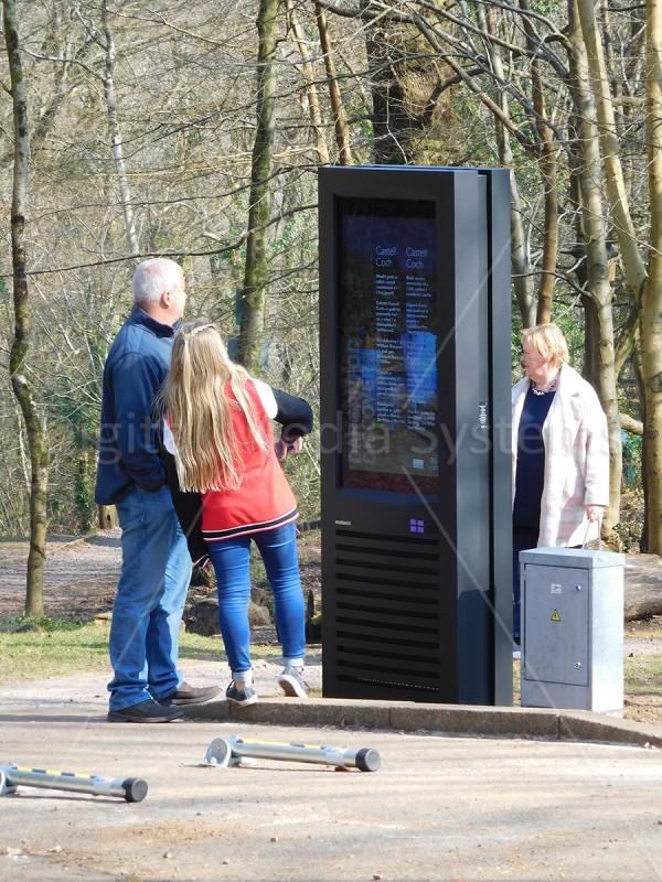 Castell Coch – Welsh Castle – 47″ Outdoor Information Screen