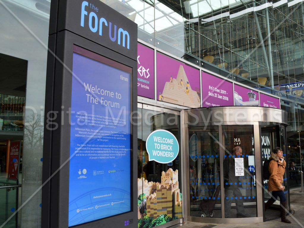 Forum Norwich 75 inch outdoor displays