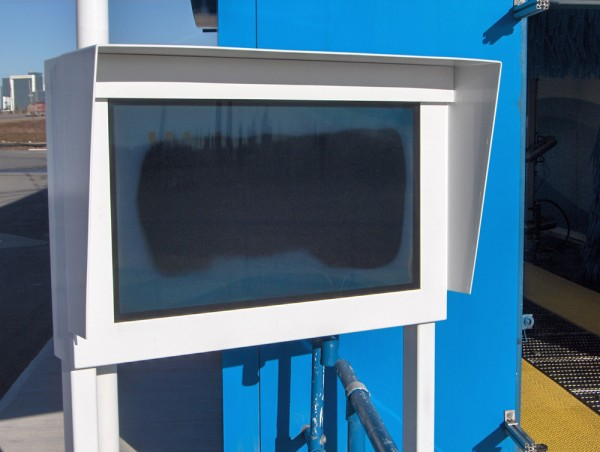 Failed: Screens installed in 'outdoor' enclosures