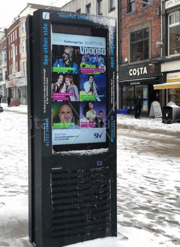 Scarborough Tourist Information Displays