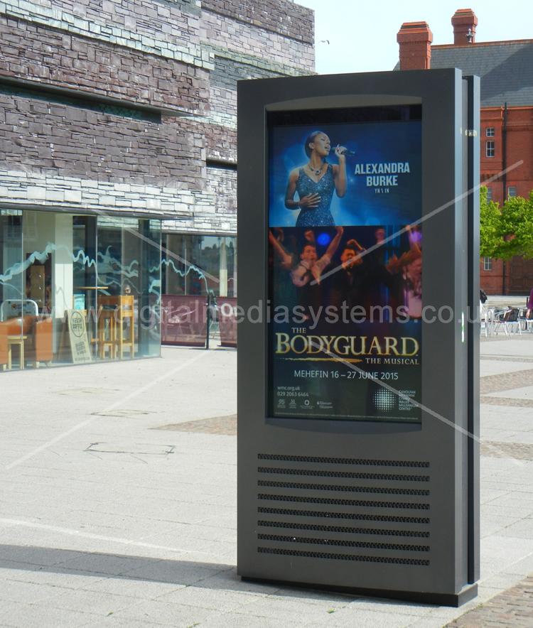Outdoor Digital Advertising Displays WMC Wales Cardiff